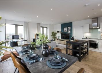 Thumbnail 3 bed flat for sale in Gallions Point, London