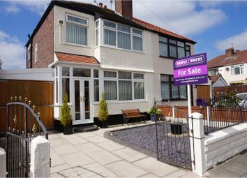 Thumbnail 3 bed semi-detached house for sale in The Greenway, Liverpool