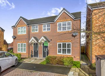 Thumbnail 3 bed semi-detached house for sale in Longfellow Close, Norton Heights, Stoke-On-Trent