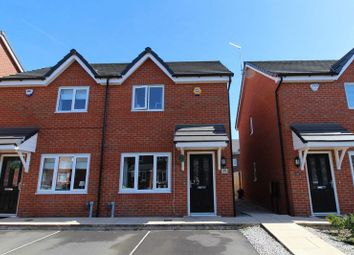 Thumbnail 2 bed semi-detached house for sale in Yarn Close, Worsley, Manchester