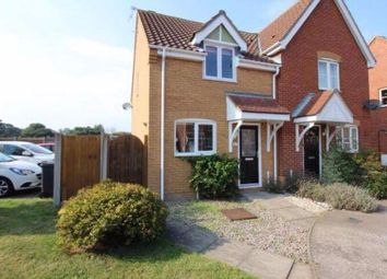 Thumbnail 2 bed semi-detached house to rent in Howley Gardens, Lowestoft