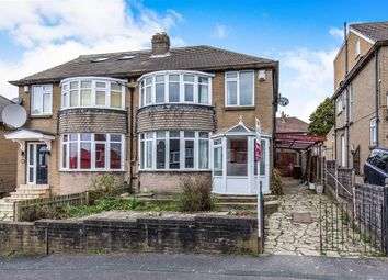 Thumbnail 3 bedroom semi-detached house for sale in Carr Manor Mount, Meanwood, Leeds