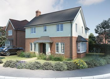 "Thumbnail 4 bed detached house for sale in ""The Caulke"" at Roman Road, Bobblestock, Hereford"