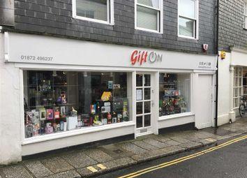 Thumbnail Retail premises to let in 23, New Bridge Street, Truro, Cornwall