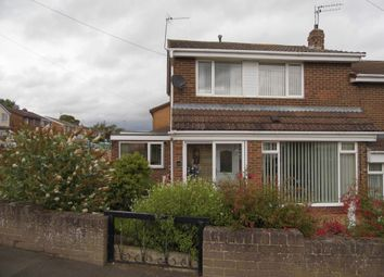 Thumbnail 3 bed semi-detached house for sale in Ullswater Avenue, West Auckland, Bishop Auckland