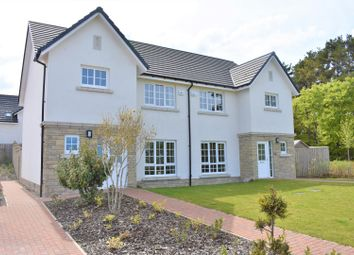 Thumbnail 3 bed semi-detached house for sale in West Cairn View, Livingston