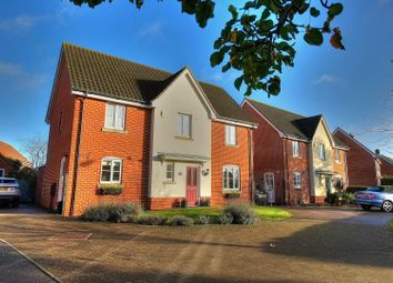 Thumbnail 4 bed detached house for sale in Besthorpe Road, Attleborough