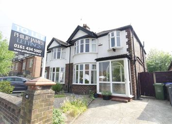 Thumbnail 3 bed semi-detached house to rent in Fog Lane, Didsbury, Manchester, Greater Manchester