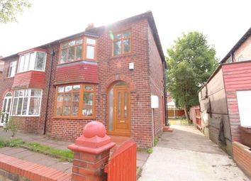 Thumbnail 3 bed semi-detached house for sale in Norfolk Avenue, Denton, Manchester