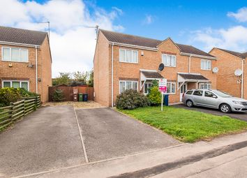 Thumbnail 2 bed end terrace house for sale in Tindall Close, Wisbech