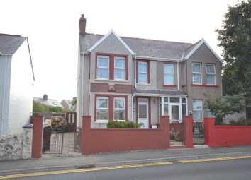Thumbnail Semi-detached house for sale in Great North Road, Milford Haven