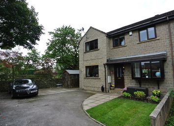Thumbnail 4 bedroom semi-detached house for sale in Carolan Court, Golcar, Huddersfield