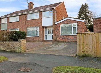 Thumbnail 3 bed detached house for sale in West Lane, Cuddington, Cheshire