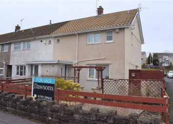 Thumbnail 2 bed semi-detached house for sale in Lon Olchfa, Sketty, Swansea