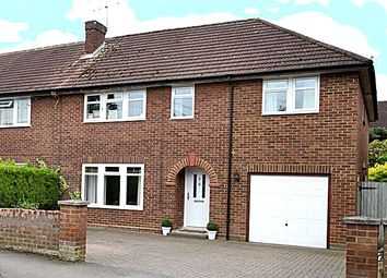 Thumbnail 4 bed semi-detached house for sale in Lower Road, Cookham