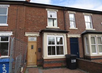 Thumbnail 3 bed terraced house for sale in Mansfield Road, Chester Green, Derby