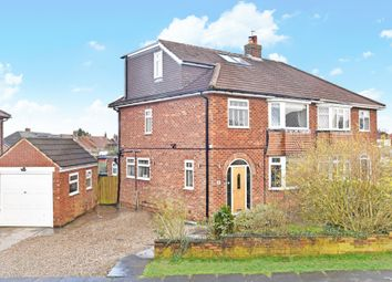 Thumbnail 4 bed semi-detached house for sale in Hawes Road, Harrogate