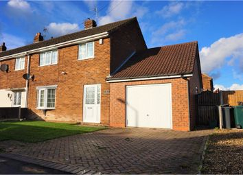 Thumbnail 3 bed end terrace house for sale in Miller Lane, Thorne, Doncaster