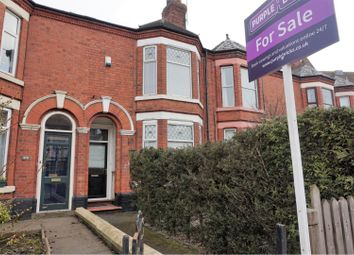 Thumbnail 4 bed terraced house for sale in Nantwich Road, Crewe