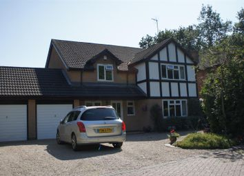 Thumbnail 5 bedroom detached house for sale in Greys Drive, Groby, Leicester