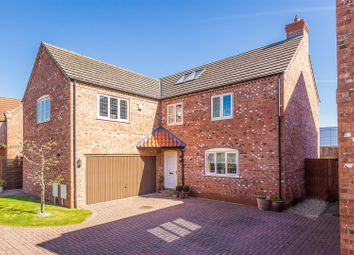 Thumbnail 5 bed detached house for sale in Newark Road, North Hykeham, Lincoln