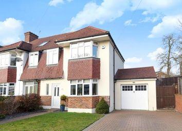 Thumbnail 4 bed semi-detached house for sale in Eden Park Avenue, Beckenham, Kent