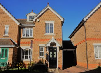 Thumbnail 4 bed semi-detached house for sale in Malkin Drive, Harlow