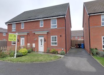 Thumbnail 3 bed semi-detached house for sale in Wright Close, Burntwood