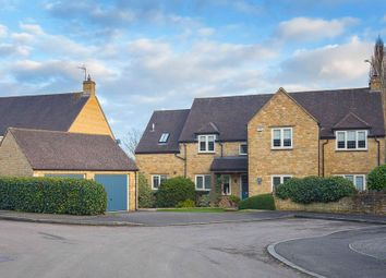 Thumbnail 4 bed detached house for sale in Cricketers Green, Weldon, Northants