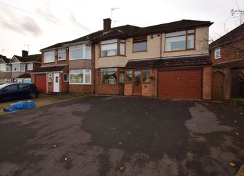Thumbnail 4 bed semi-detached house for sale in Fivefield Road, Keresley End, Coventry