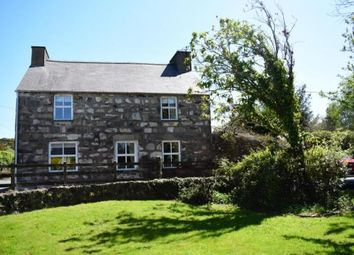 Thumbnail 3 bed detached house for sale in Rhydyclafdy, Pwllheli, Gwynedd
