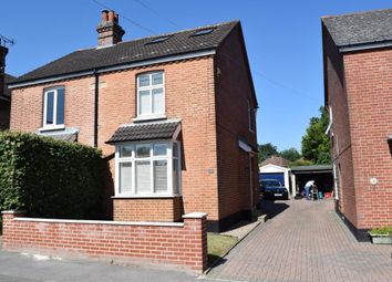 Thumbnail 3 bed semi-detached house for sale in Macdonald Road, Lightwater