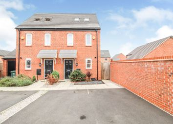 Thumbnail 3 bed semi-detached house for sale in Netley Road, Boulton Moor, Alvaston, Derby
