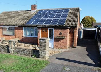 Thumbnail 2 bedroom semi-detached bungalow for sale in Woodhill Road, Duston, Northampton