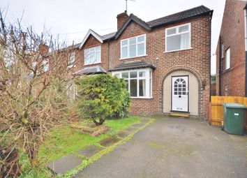 Thumbnail 3 bed semi-detached house to rent in Abbey Road, West Bridgford