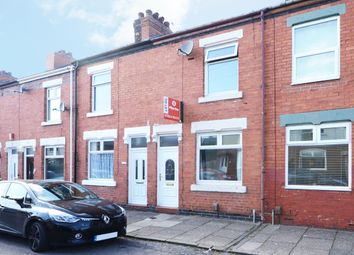 Thumbnail 2 bed terraced house to rent in Stanley Road, Hartshill, Stoke -On-Trent
