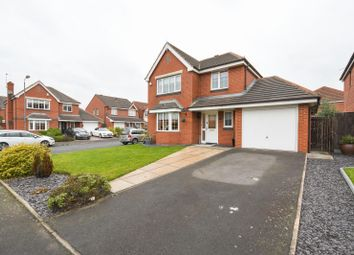 Thumbnail 4 bed detached house for sale in Wisteria Way, St. Helens