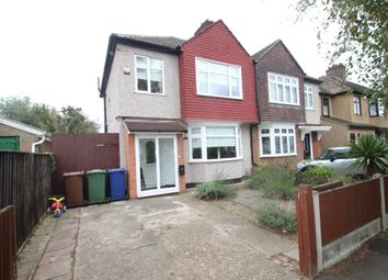 Thumbnail 3 bed semi-detached house to rent in Nutberry Avenue, Grays, Essex