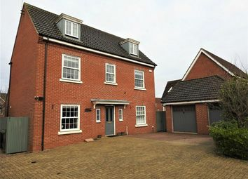 Thumbnail 5 bed detached house for sale in Civray Avenue, Downham Market