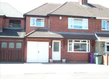 Thumbnail 4 bed semi-detached house for sale in Carlton Avenue, Wednesfield, Wednesfield
