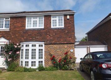 Thumbnail 3 bedroom semi-detached house to rent in Warham Road, Otford, Sevenoaks