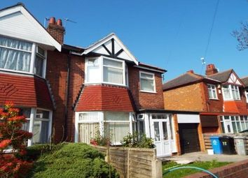 Thumbnail 3 bed semi-detached house to rent in Warwick Road South, Firswood