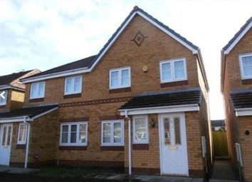 Thumbnail 3 bed semi-detached house to rent in Kendal Road, Kirkby, Merseyside