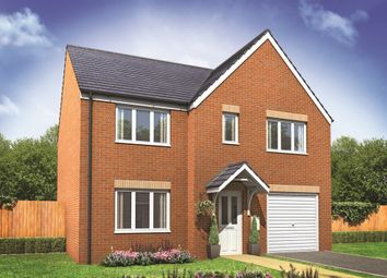 "Thumbnail 5 bed detached house for sale in ""The Winster"" at Beccles Road, Bradwell, Great Yarmouth"
