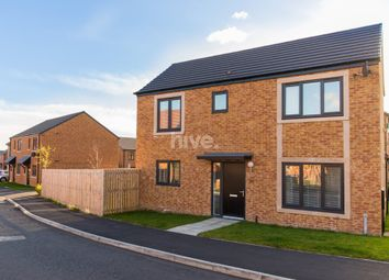 Thumbnail 3 bed detached house for sale in The Meadows, Wallsend, Tyne And Wear