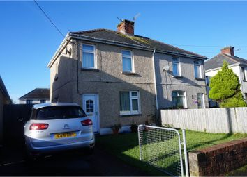 Thumbnail 2 bed semi-detached house for sale in Gwelfor, Llanelli