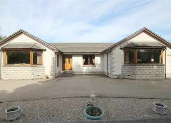Thumbnail 4 bedroom detached bungalow for sale in Moss Road, Aberchirder, Huntly, Aberdeenshire