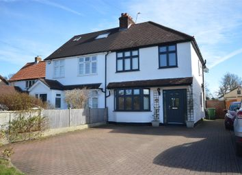 Thumbnail 4 bed semi-detached house for sale in Park Street Lane, Park Street, St. Albans