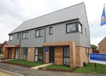 Thumbnail 3 bed semi-detached house for sale in Milestones, Bungay Road, Poringland, Norwich