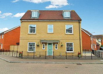 Thumbnail 5 bed town house for sale in Carus Crescent, Highwoods, Colchester